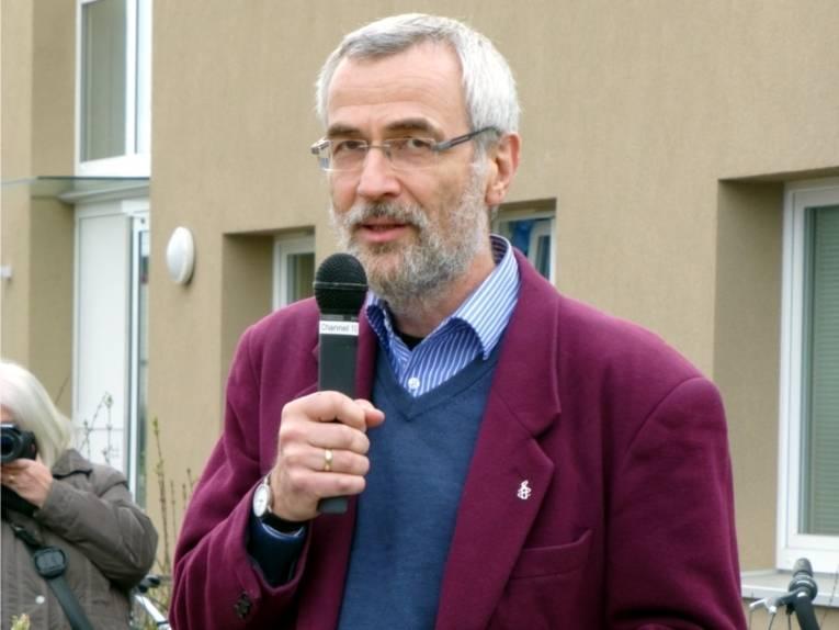 Ansprache von Herrn Martin Roger - Mitglied des Vorstandes Amnesty International Deutschland.