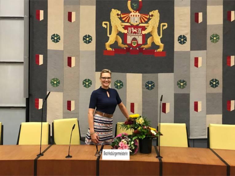 Bezirksbürgermeisterin Johanna Starke