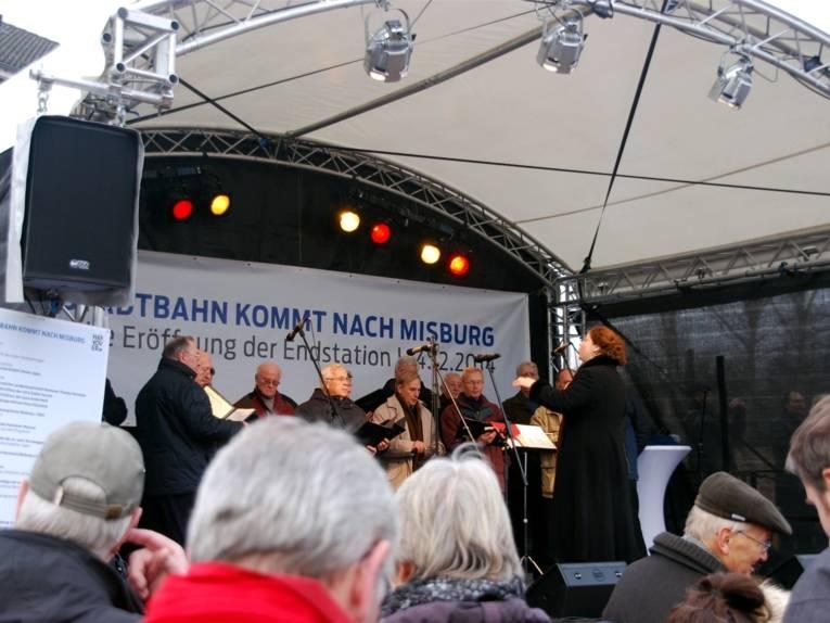 Choraufführung