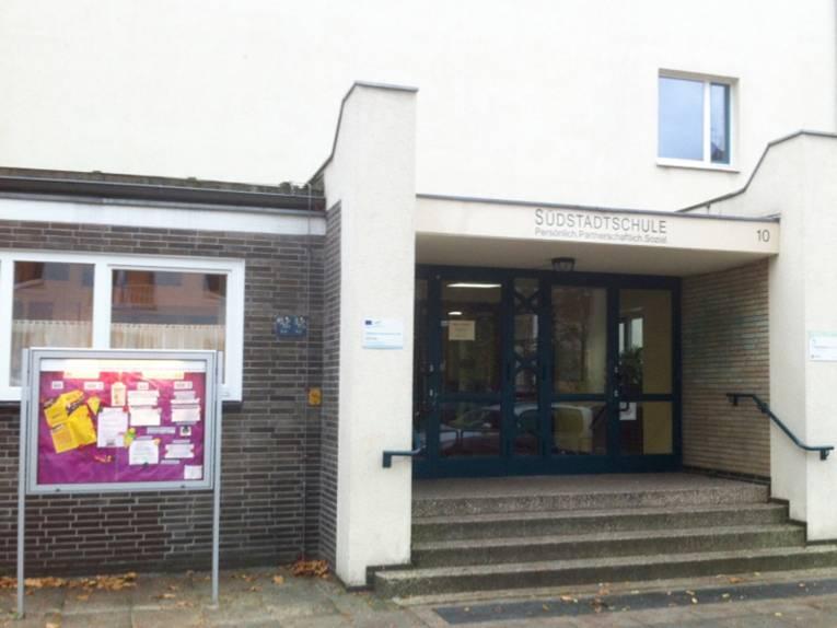 Eingangsbereich der Südstadtschule