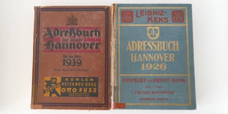 Adressbücher der Stadt Hannover