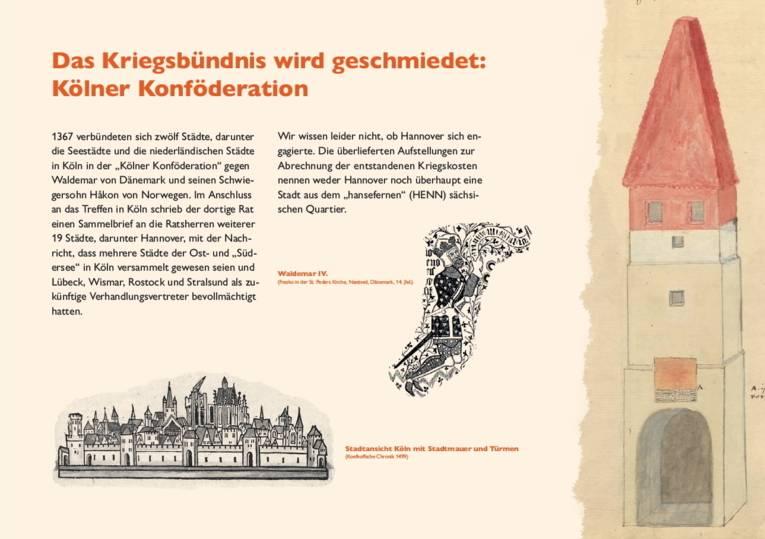Das Kriegsbündnis wird geschmiedet: Kölner Konföderation
