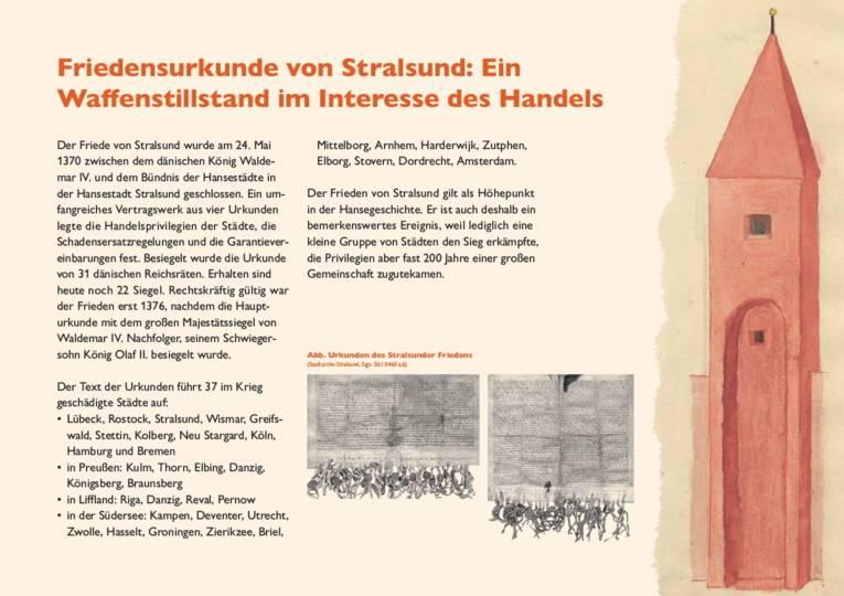 Friedensurkunde von Stralsund: Ein Waffenstillstand im Interesse des Handels