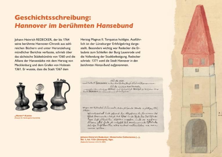 Geschichtsschreibung: Hannover im berühmten Hansebund