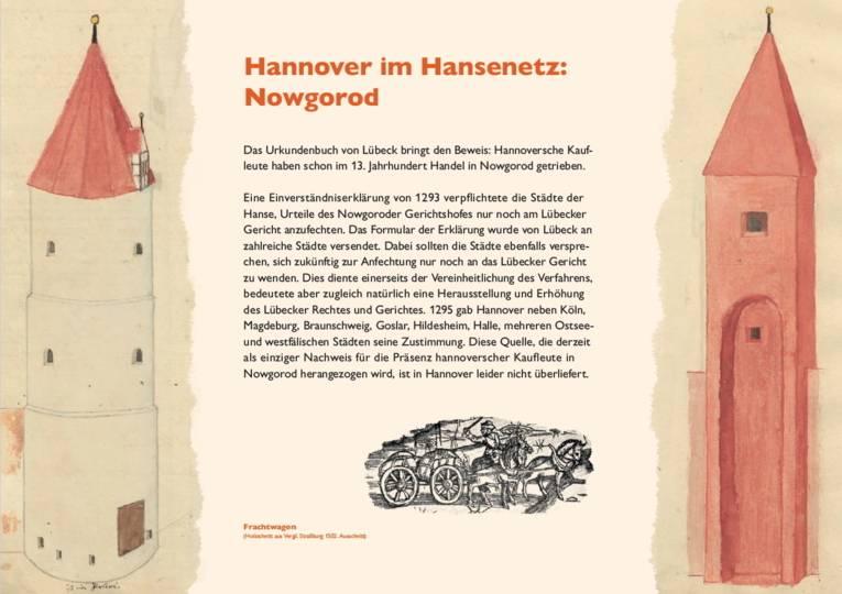 Hannover im Hansenetz: Nowgorod