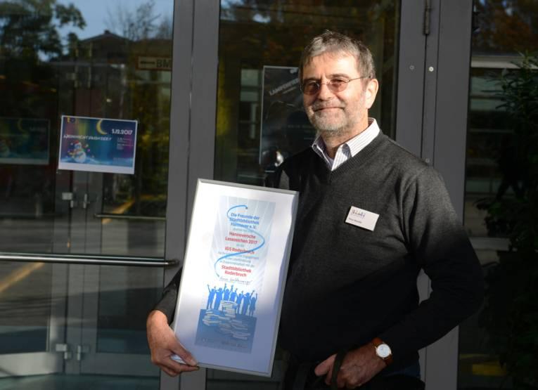 Peter Heinlein, Leiter der Stadtteilbibliothek Roderbruch.