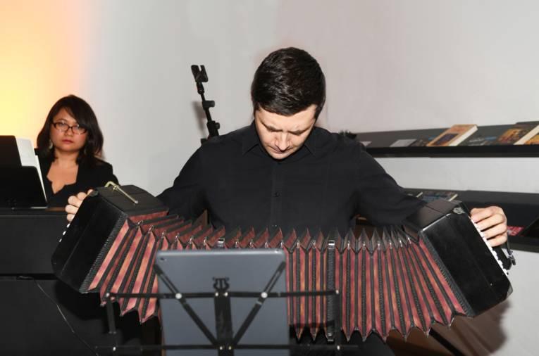 """""""Musik im Wort"""" am 15. März 2019 in der Stadtbibliothek Hannover"""