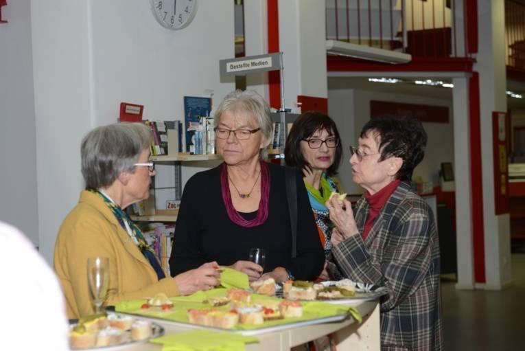 Neujahrstreffen 2018 in der Nordstadtbibliothek