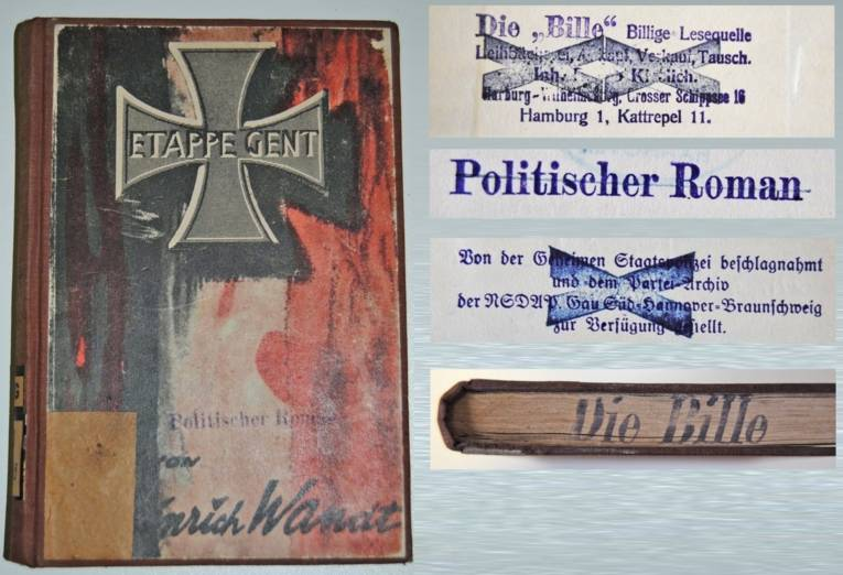 Leihbücherei Die Bille, Inh. Bruno Kieslich, Hamburg