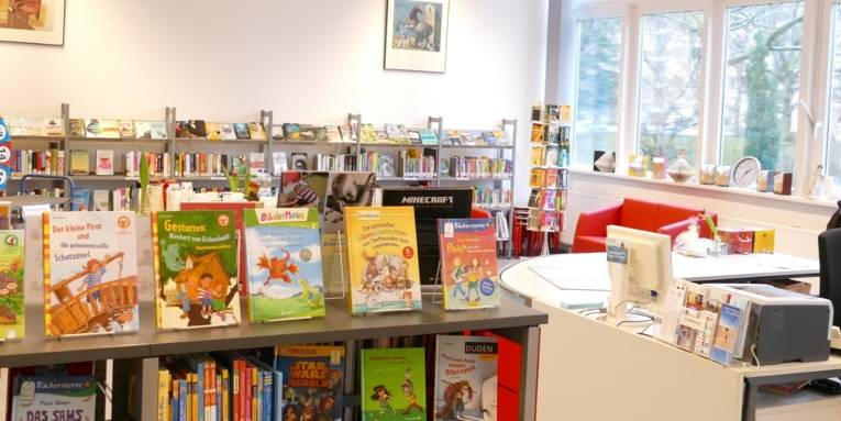 Innenraum Stadtbibliothek Vahrenheide