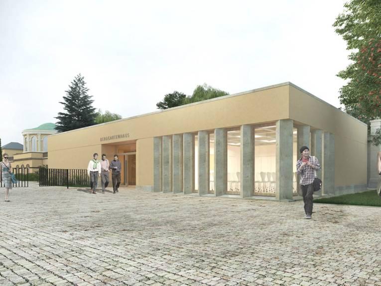 In Abstimmung mit dem Denkmalschutz fügt sich der Neubau in Form und Farbe in die historische Umgebung ein.