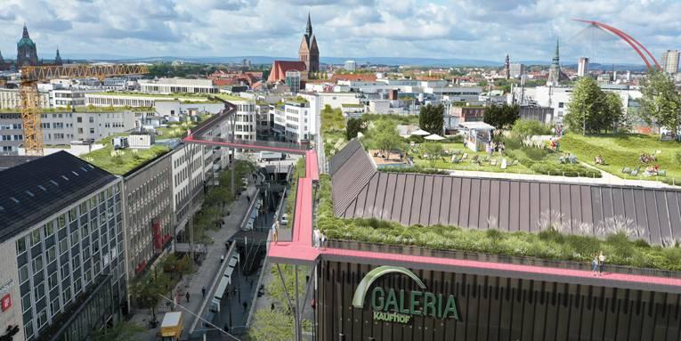 Roofwalk Visualisierung