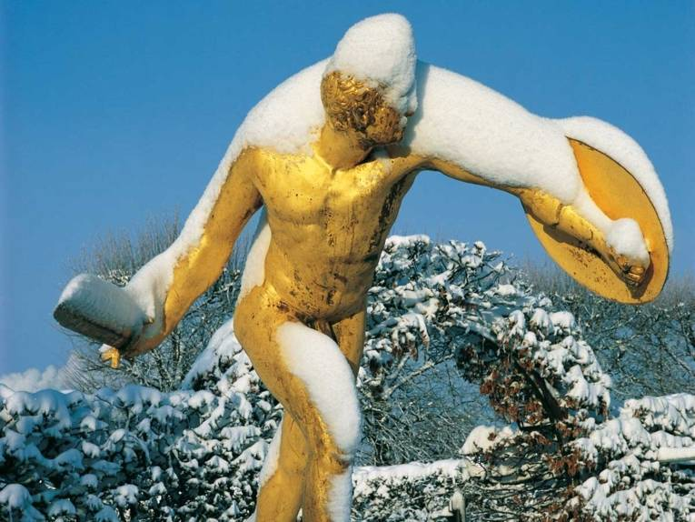 Gartentheater im Winter