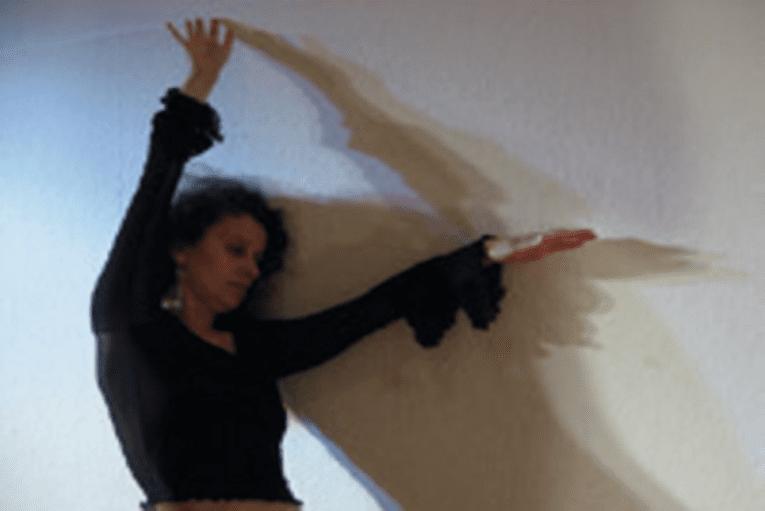 Frau in Bewegung