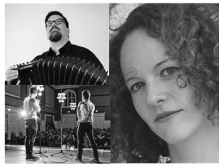Poetry Slam mit Gerrit Willanek und Stoffl Duo Loco: Alice Hoffmann und Wladimir Gorup