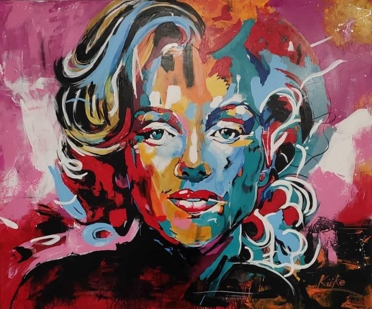 Marilyn Monroe gezeichnet von Sebastian Küke