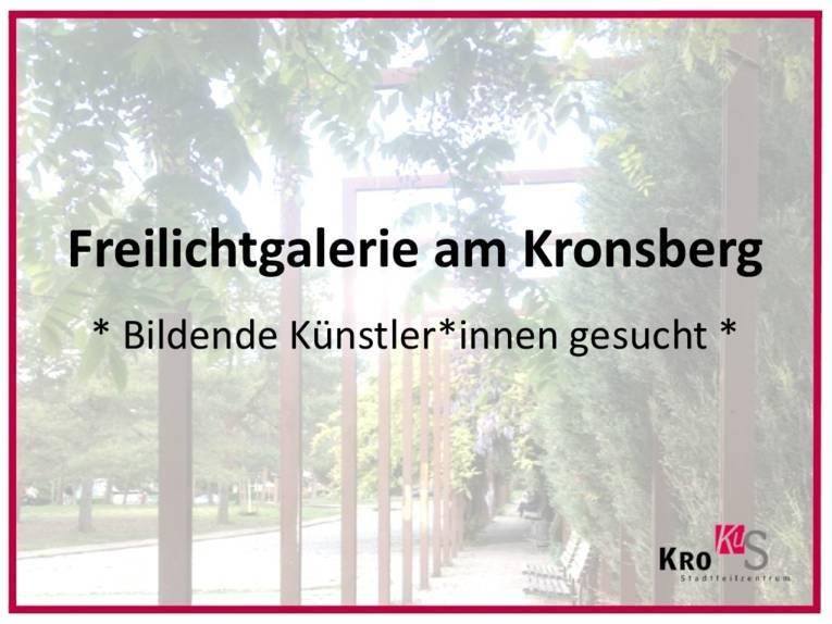 Freilichtgalerie am Kronsberg