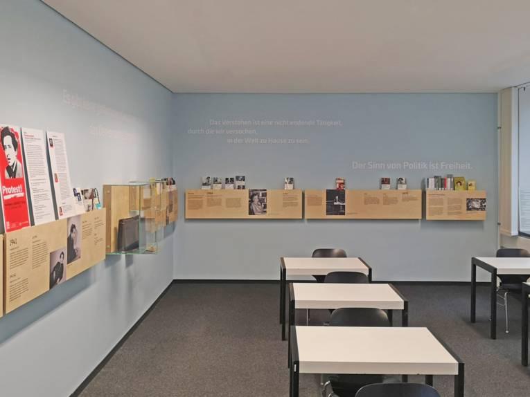 Hannah-Arendt-Raum in der Stadtbibliothek