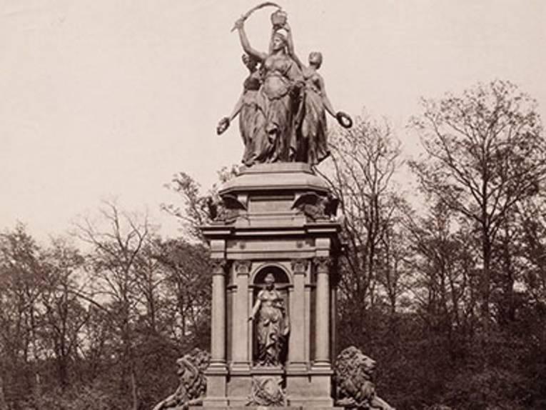 Kriegerdenkmal am Emmichplatz (Ausschnitt) Foto