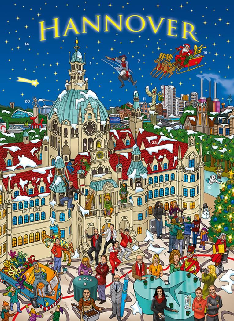 Cover vom Hannover Adventskalender 2020