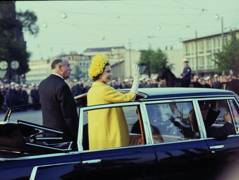 Staatsbesuch der britischen Königin Queen Elisabeth II 1965