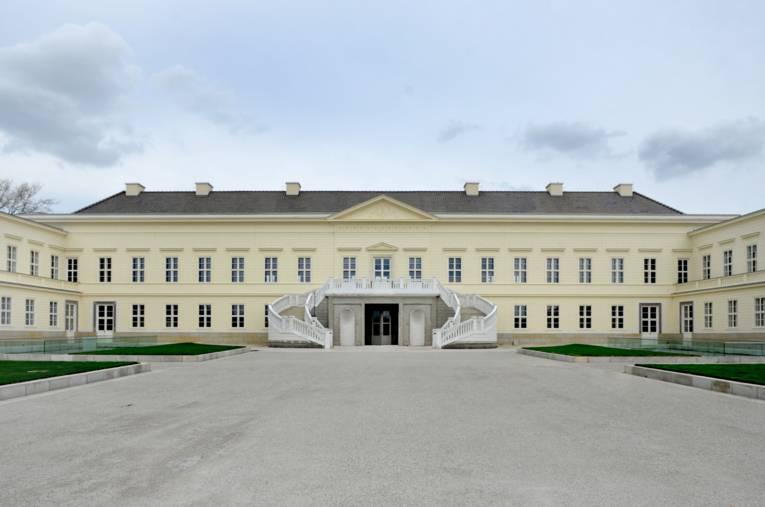 Schloss Herrrenhausen, Ansicht von der Gartenseite