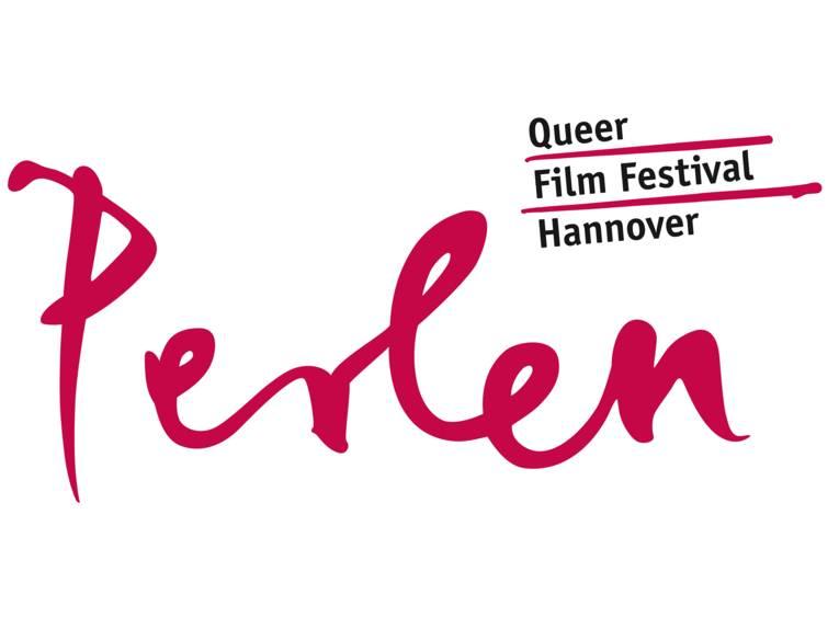 Logo Schriftzug Perlen Queer Film Festival