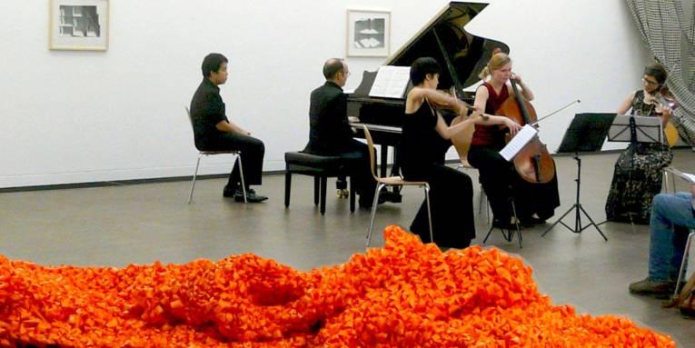 Das Flex Ensemble beim KUBUS-Lunch-Concert am 22. Oktober 2014