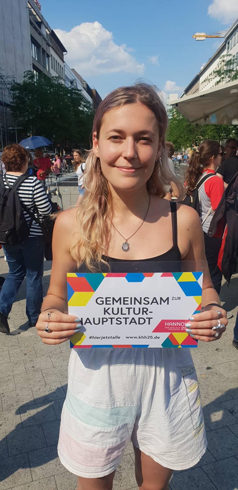LUNA auf der Fête de la Musique unterstützt die Kulturhauptstadtbewerbung!