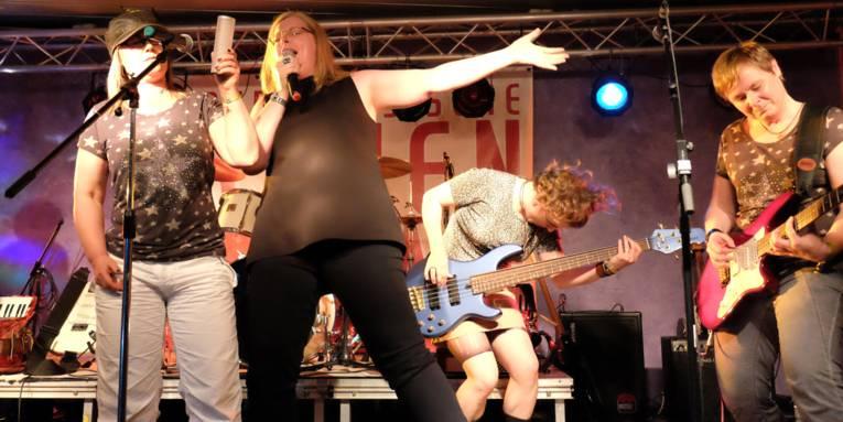 Niedersächsische Frauenmusiktage 2016, Band der 90er