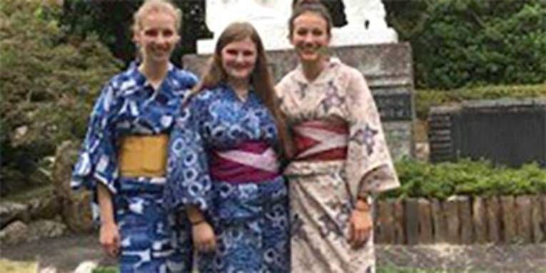 Mädchenchor Hannover auf Japan-Tour