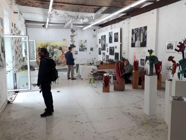 Ateliers der Eisfabrik: Meike Zopf