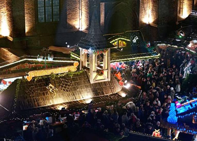 Weihnachtlicher Ausklang zum Feierabend an Hannovers Marktkirche