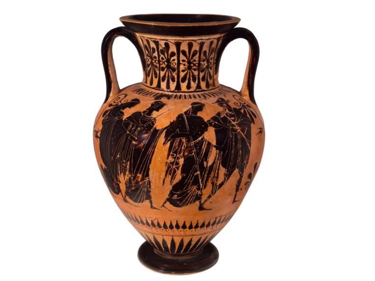 Amphora, Maler von München 1519, um 510 v. Chr.