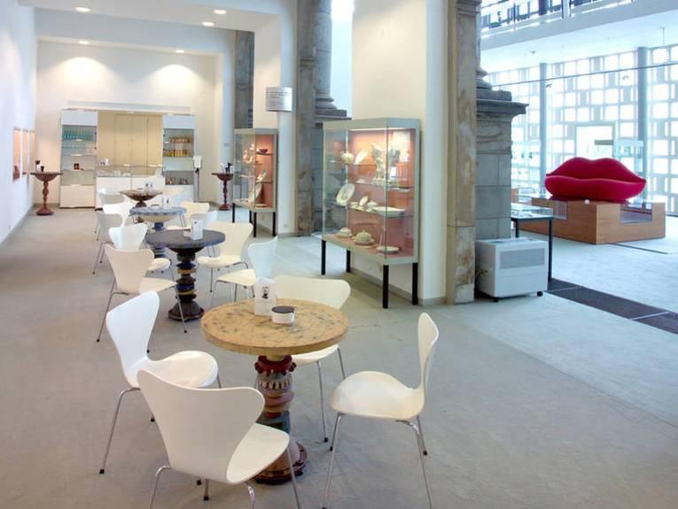 Blick in die Cafeteria im Museum August Kestner