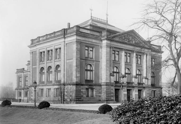 Museum August Kestner, ursprüngliches Gebäude von 1889