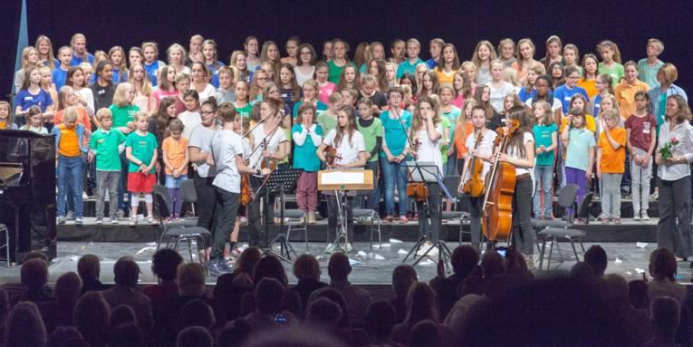 Es gibt zahlreiche Chorangebote der Musikschule