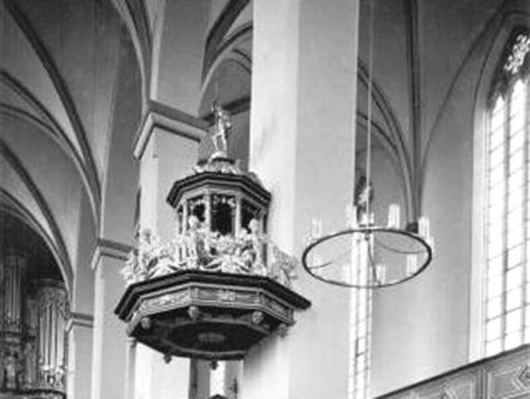 Wilhelmi-Kanzel aus der Johanniskirche in Magdeburg