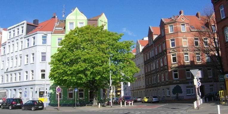 Selmastraße / Pavillonstraße