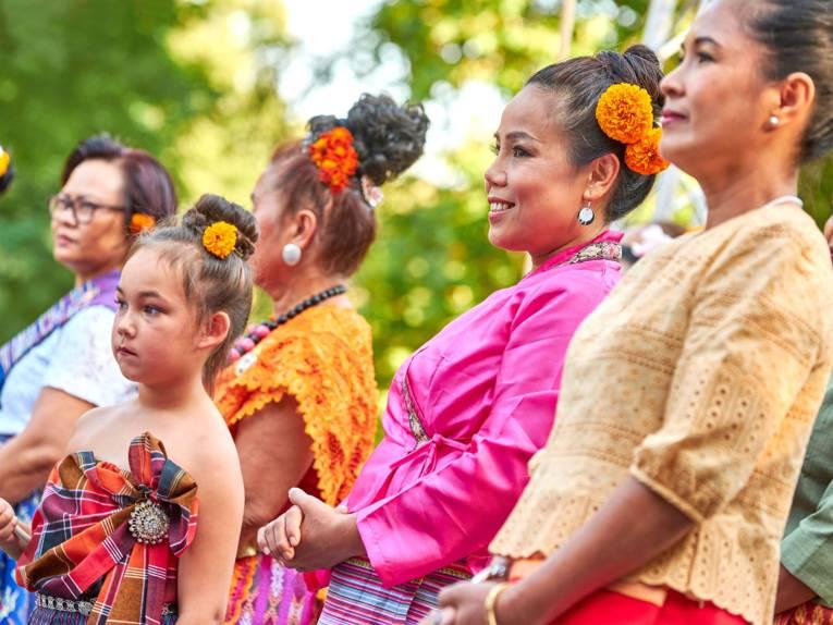 Bunt, international und weltoffen - das Fest der Kulturen