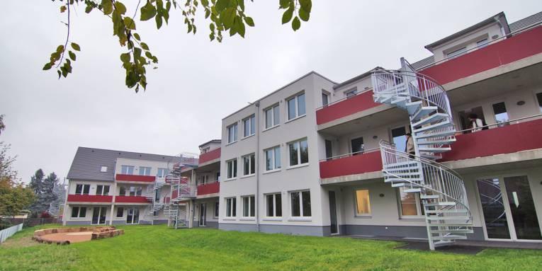 Flüchtlingsunterkunft in der Hebbelstraße