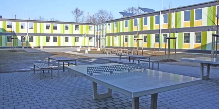 Innenhof.