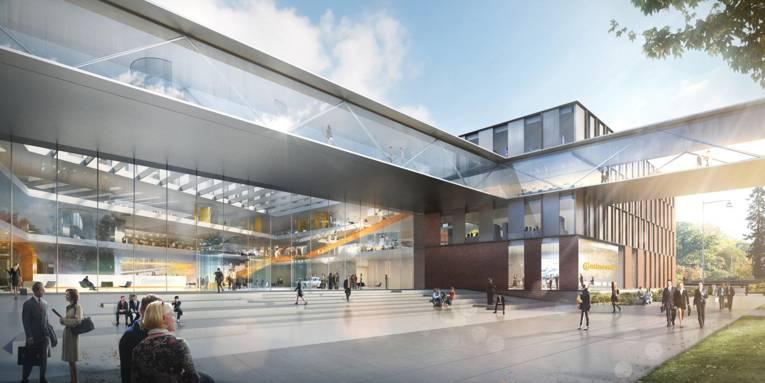 Entwurf der neuen Continental-Zentrale