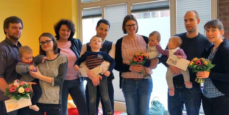 Willkommen Baby – Die Gewinnerfamilien 2016