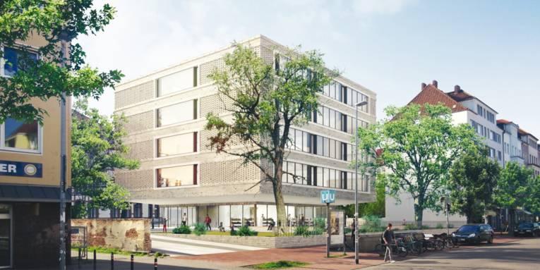Entwurf des Erweiterungsbaus Lutherschule