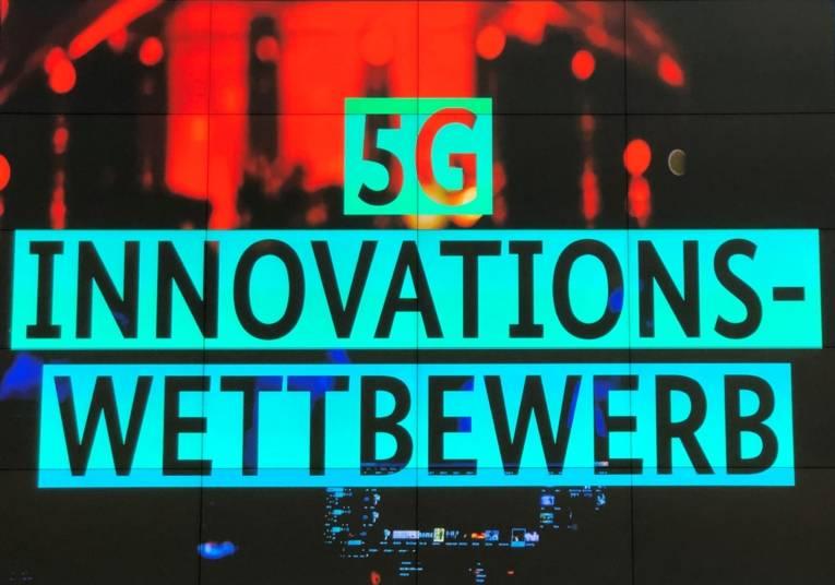 """Grafik, in der """"5G Innovationswettbewerb"""" steht."""