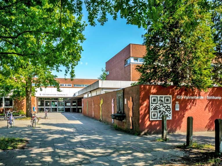 Eingangsbereich einer Schule