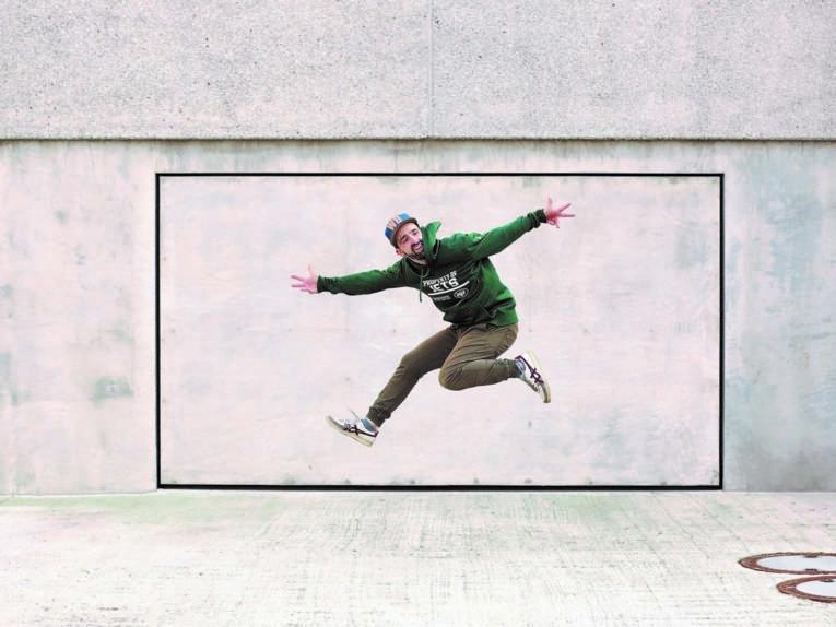 Bild, das einen Hip-Hopper zeigt.