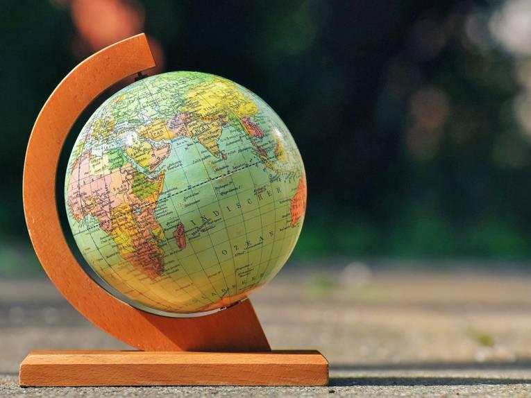 Ein Globus