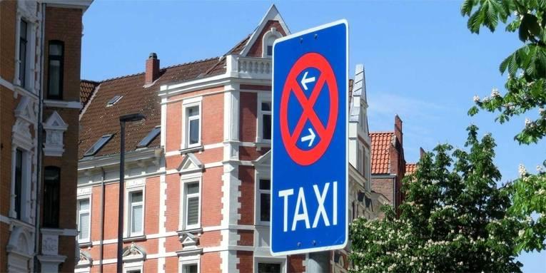 Verkehrsschild: Taxistand
